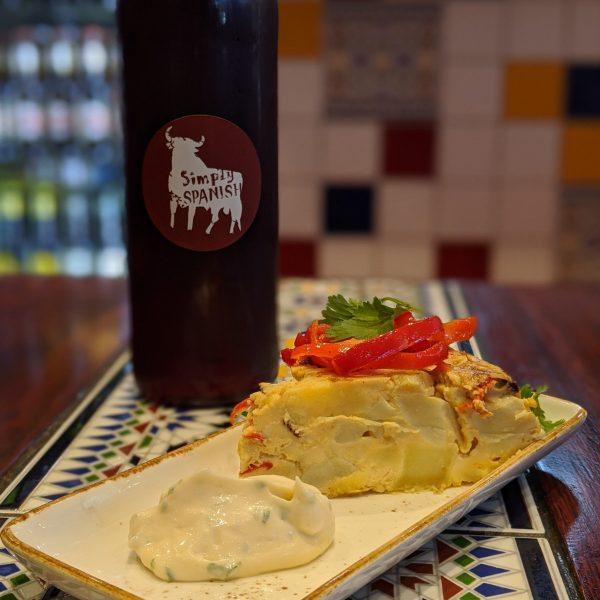 Simply Spanish Tortilla de Patatas